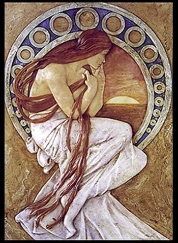 Alphonse Mucha: La poesia